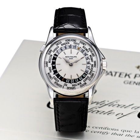 Patek Philippe World Time copy watch - 5110G