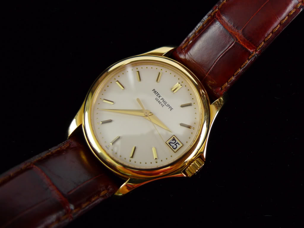 yellow gold Patek Philippe Calatrava 5127J replica