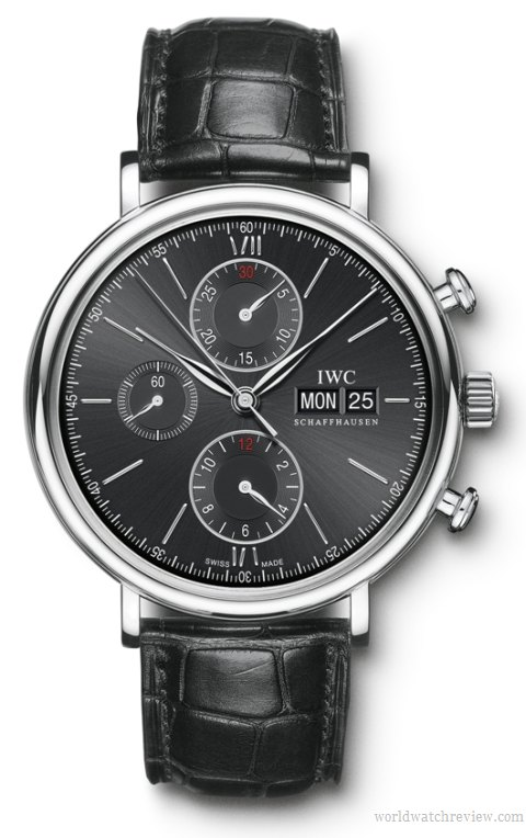 IWC Portofino Chronograph (Ref. IW391002) automatic watch in stainless steel