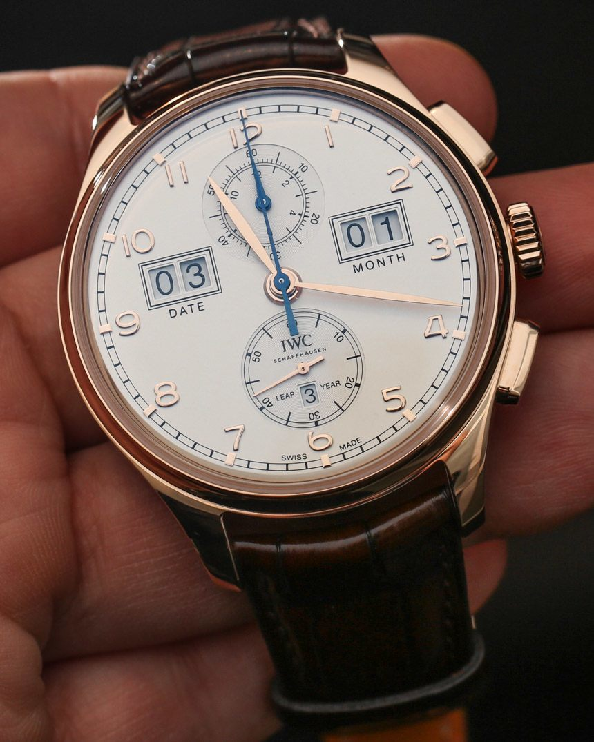 c125a4d1adb Who Sells The Best IWC Portugieser Perpetual Calendar Digital Date-Month  Watch Hands-On Fake