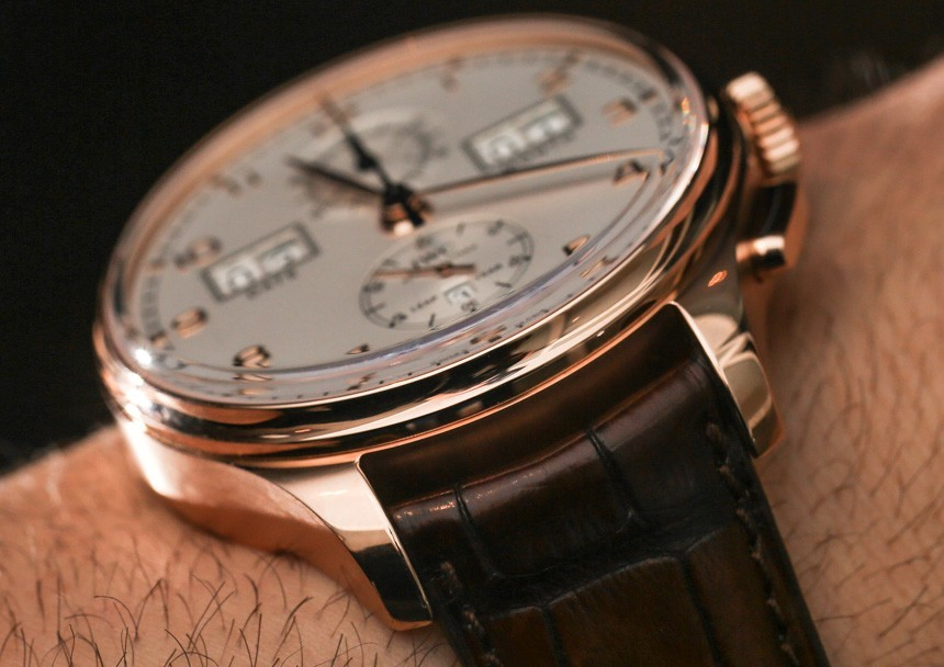 1598126ea10 IWC Portugieser Perpetual Calendar Digital Date-Month Watch Hands-On  Hands-On