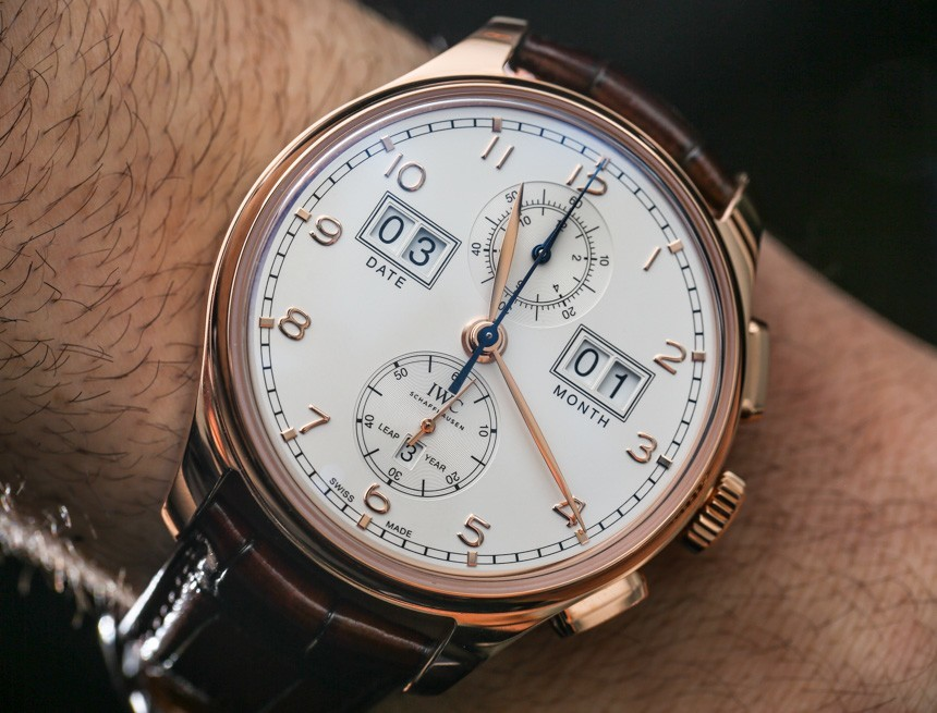 IWC Portugieser Perpetual Calendar Digital Date-Month Watch Hands-On Hands-On