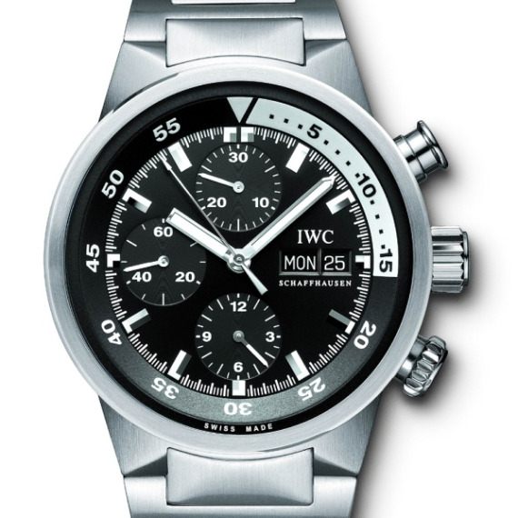 Bill Paxton Wears IWC Aquatimer Chrono-Automatic Watch In Big Love Season 3 Feature Articles