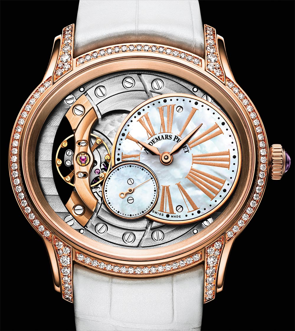 400dd4a55344 High End New Audemars Piguet Millenary Ladies  Watches For 2018 Replica  Watches Young Professional