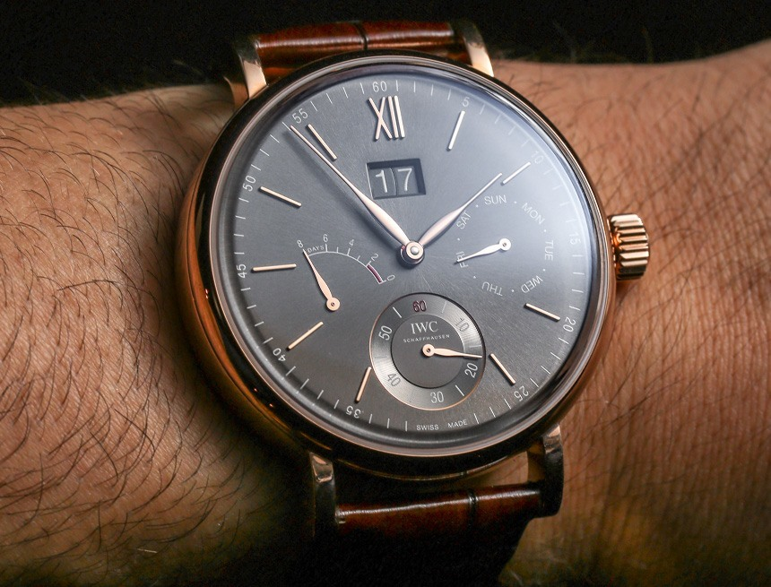 IWC Portofino Hand-Wound Day & Date Watch Hands-On Hands-On