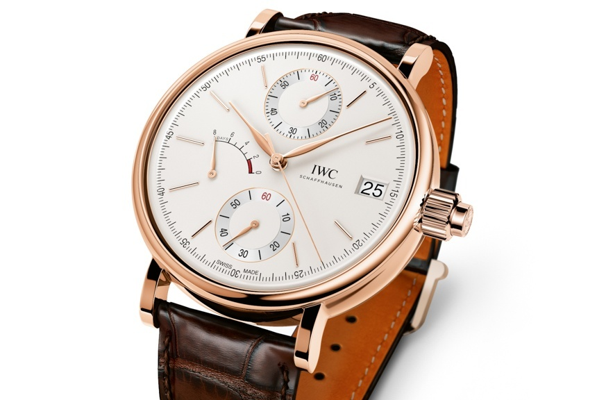 IWC Portofino Hand-Wound Monopusher Chronograph Watch Watch Releases