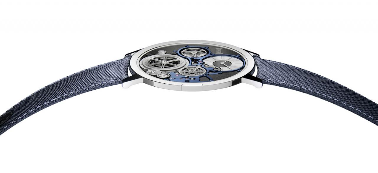 Piaget Announces The Altiplano Ultimate Concept, The World's Thinnest Hand-Wound replica Watch