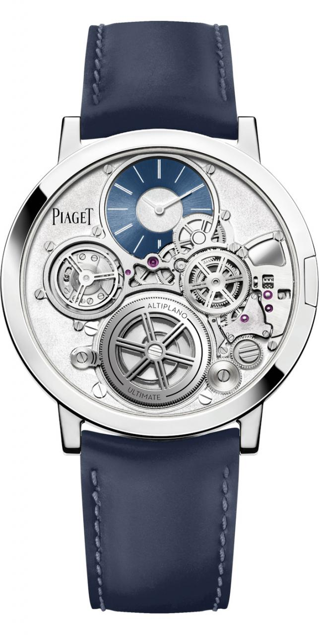 Piaget Announces The Altiplano Ultimate Concept, The World's Thinnest Hand-Wound fake Watch Watch Releases